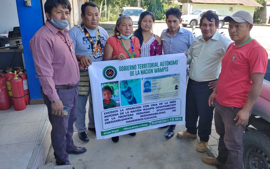 Amazonas: Búsqueda de niña wampís une a indígenas de Perú y Ecuador para encontrarla