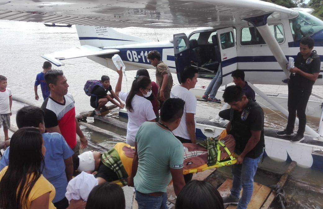 Loreto: Seis heridos de bala tras enfrentamiento entre dos comunidades de Trompeteros