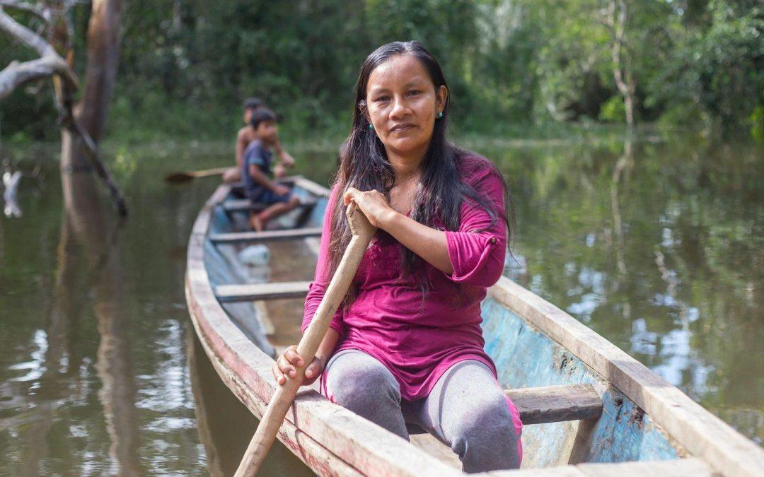 Liz Chicaje, lideresa indígena Bora, premiada con el Goldman por su activismo medioambiental