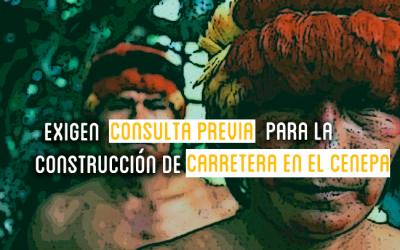 Amazonas: Denuncian proceso irregular de consulta previa de carretera por no cumplir estándares nacionales