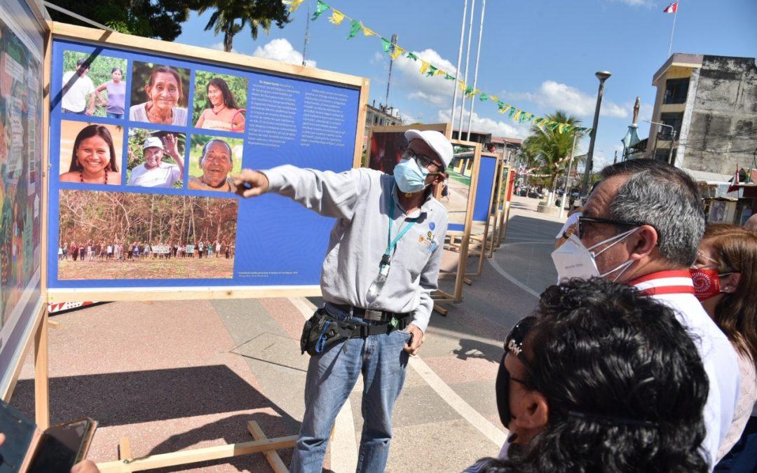 Bicentenario: Inauguran exposición fotográfica sobre el impacto de la minería ilegal en Madre de Dios