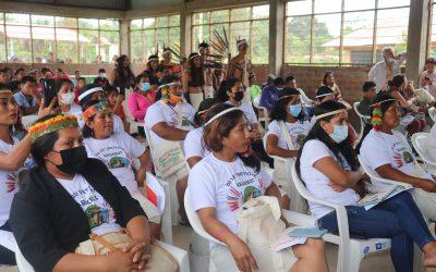 """Pueblo Harakbut celebra el 'I Congreso de la Mujer Harakbut' bajo el lema """"Nuestras voces salen del bosque"""""""