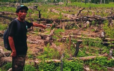 San Martín: Apus de Santa Rosillo de Yanayacu son amenazados de muerte por proteger sus tierras de invasores ilegales