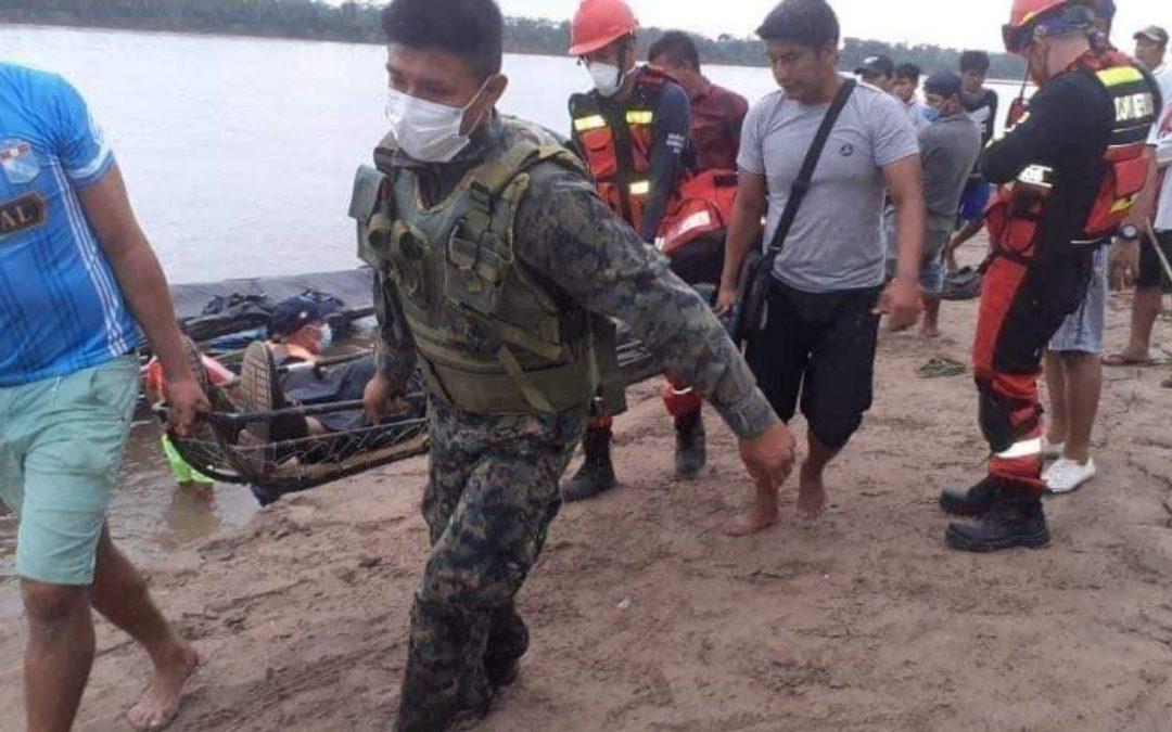 Yurimaguas: Al menos 11 muertos y 9 desaparecidos deja un choque fluvial con una barcaza de Petroperú