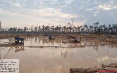 Golpe a la minería ilegal en Madre de Dios: Destruyen equipos por más de S/ 6 millones