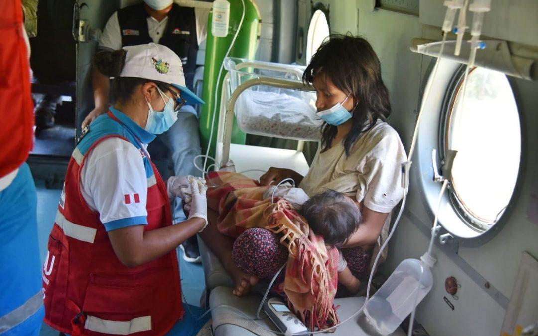 ¡Por Dylan y Ari! Dos bebés matsigenkas hospitalizados en Madre de Dios necesitan apoyo