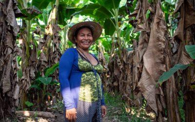 ONAMIAP exige «una reforma agraria integral, desde nosotras, con nosotras y cuidando a la Madre Tierra»