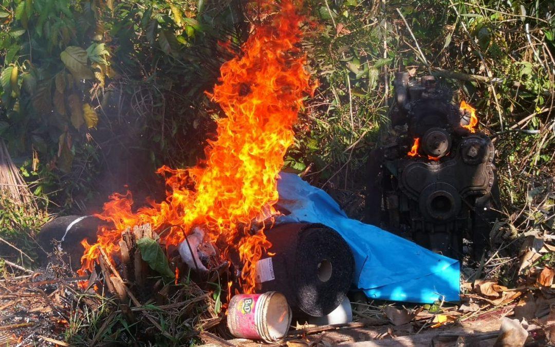 """""""Estamos siendo amenazados de muerte"""". En riesgo la vida de vecinos del Alto Nanay (Loreto) que se oponen a la minería ilegal"""