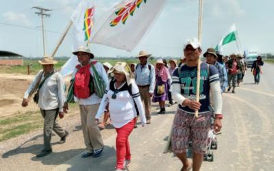 Bolivia: Piden atender el clamor de los pueblos indígenas que marchan en defensa de sus territorios