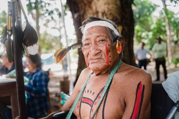 Dakichi Wamanokkaeri Dari Ontanojpua. Adiós al sabio Harakbut Carlos Kameno