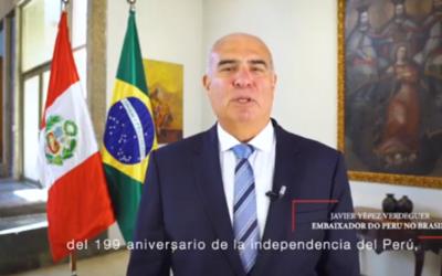 Embajador de Perú en Brasil dice no estar interesado en una nueva conexión con Brasil