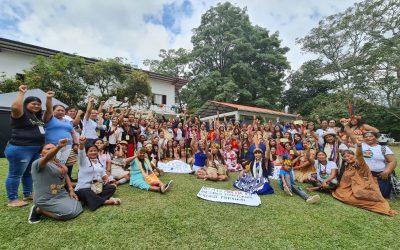 COICA presenta «Mandato de las Mujeres Originarias de la Cuenca Amazónica»