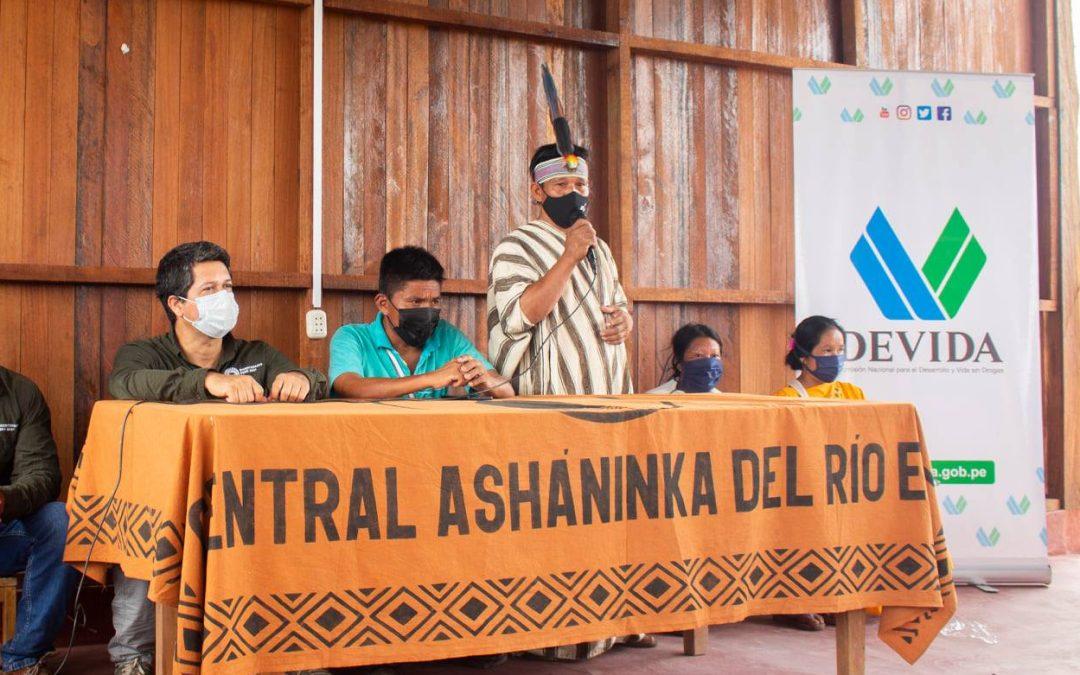 Asháninkas piden la renuncia del ministro del Interior por pretender «promover el narcotráfico»