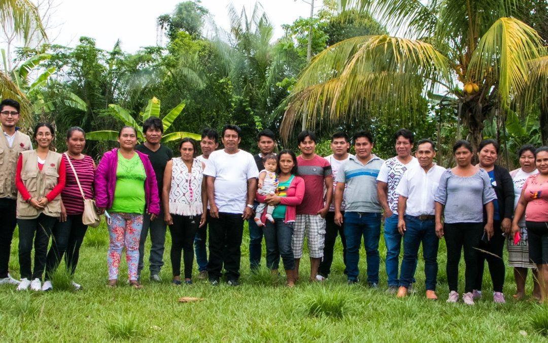 Unidos para lograr respeto: Siete comunidades nativas del río Las Piedras (Madre de Dios) conforman comité para la defensa de sus derechos