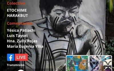 Muestra pictórica Harakbut 'Los Hijos del Bosque' se presentará este jueves en un evento virtual